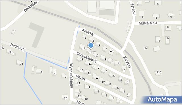 Limanowa, Orzeszkowej Elizy, 12, mapa Limanowa