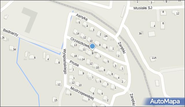 Limanowa, Orzeszkowej Elizy, 9, mapa Limanowa
