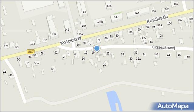 Lubaczów, Orzeszkowej Elizy, 18, mapa Lubaczów