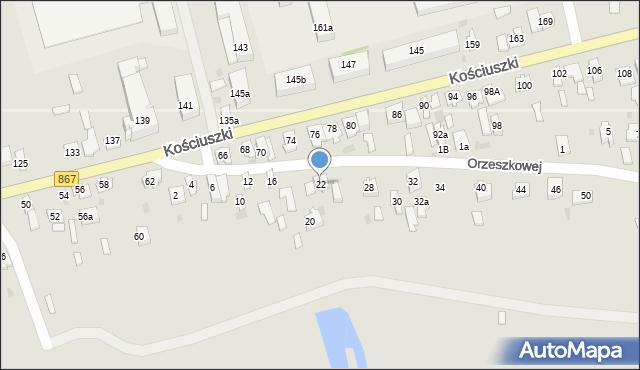 Lubaczów, Orzeszkowej Elizy, 22, mapa Lubaczów