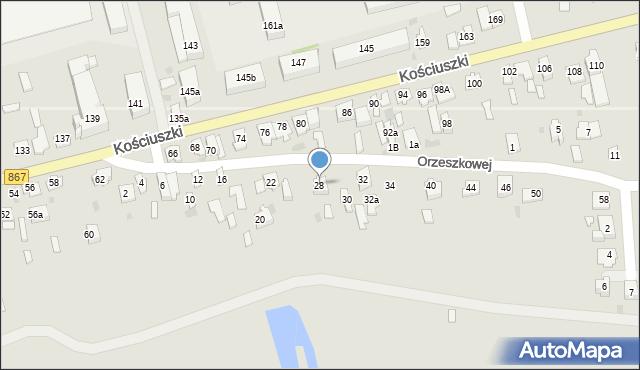 Lubaczów, Orzeszkowej Elizy, 28, mapa Lubaczów