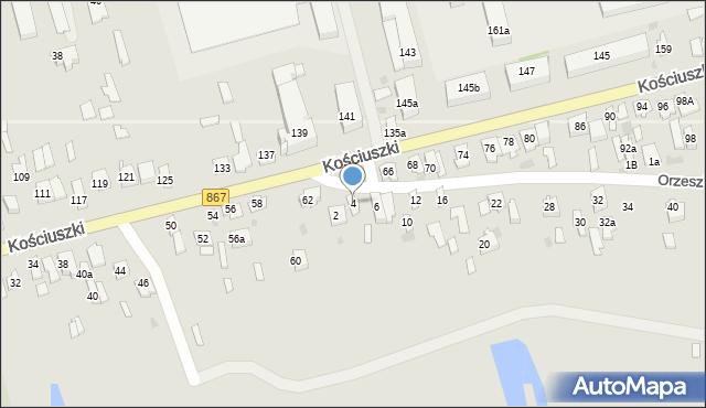 Lubaczów, Orzeszkowej Elizy, 4, mapa Lubaczów