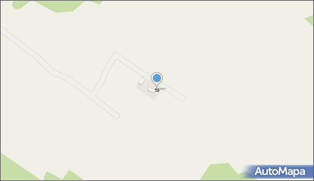 Chocznia, Osiedle Patria, 59, mapa Chocznia