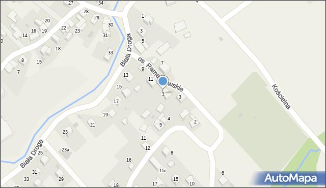 Chocznia, Osiedle Ramendowskie, 1, mapa Chocznia