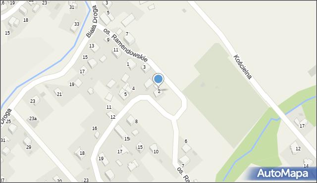 Chocznia, Osiedle Ramendowskie, 2, mapa Chocznia