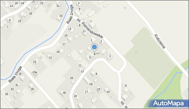 Chocznia, Osiedle Ramendowskie, 4, mapa Chocznia
