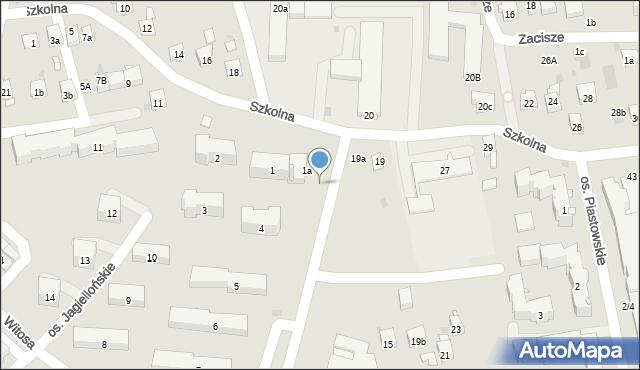 Dobczyce, Osiedle Jagiellońskie, 1a/7, mapa Dobczyce