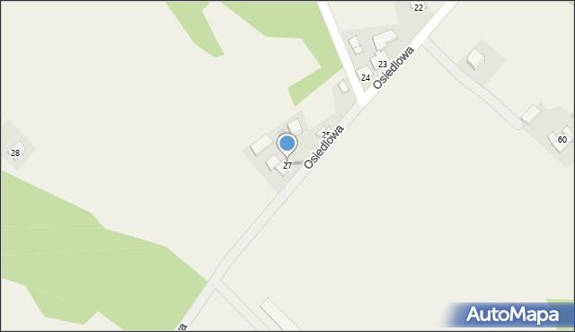 Frydrychowice, Osiedlowa, 27, mapa Frydrychowice