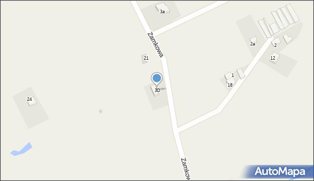 Inwałd, Osiedle Korcza, 7, mapa Inwałd