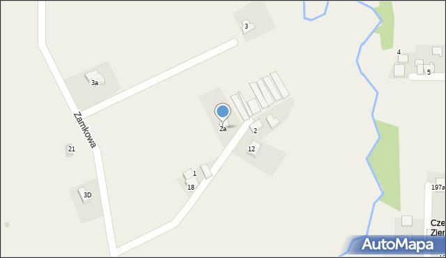 Inwałd, Osiedle Korcza, 8, mapa Inwałd