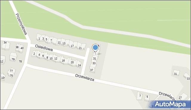 Luzino, Osiedlowa, 29, mapa Luzino
