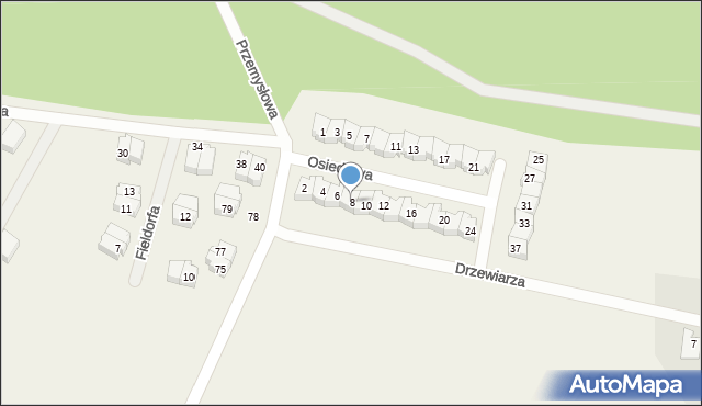 Luzino, Osiedlowa, 8, mapa Luzino