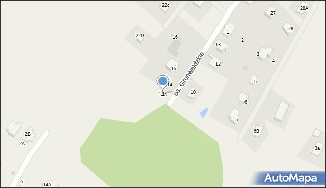 Nowa Wieś, Osiedle Grunwaldzkie, 14A, mapa Nowa Wieś
