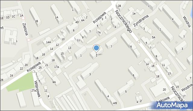Olecko, Osiedle nad Legą, 2, mapa Olecko