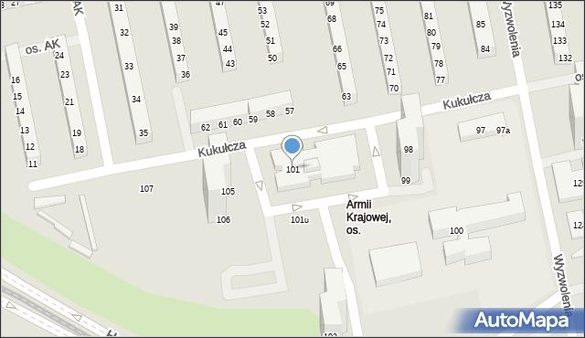 Osiedle Armii Krajowej 101 Os 61 381 61 370 Poznań Poznań Nowe