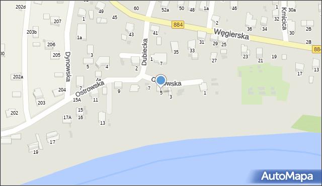 Przemyśl, Ostrowska, 5, mapa Przemyśla
