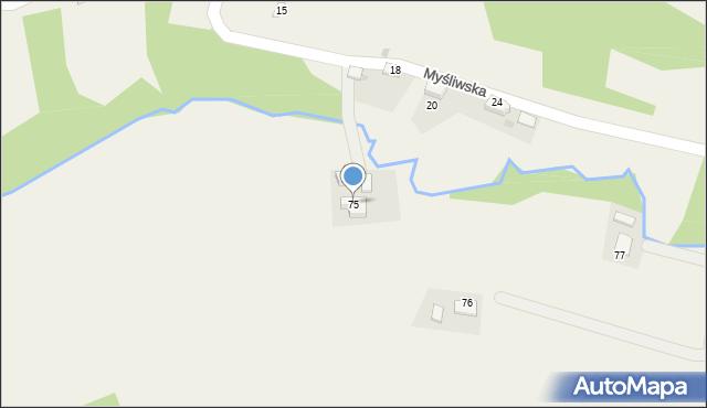 Rzyki, Osiedle Szafarze, 75, mapa Rzyki