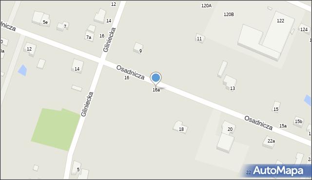 Toruń, Osadnicza, 16a, mapa Torunia