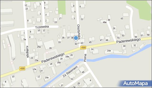 Grudziądz, Paderewskiego Ignacego Jana, 41, mapa Grudziądza