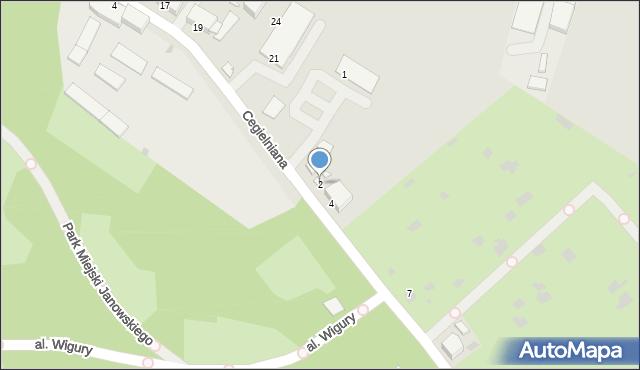 Grudziądz, Parkowa, 2, mapa Grudziądza