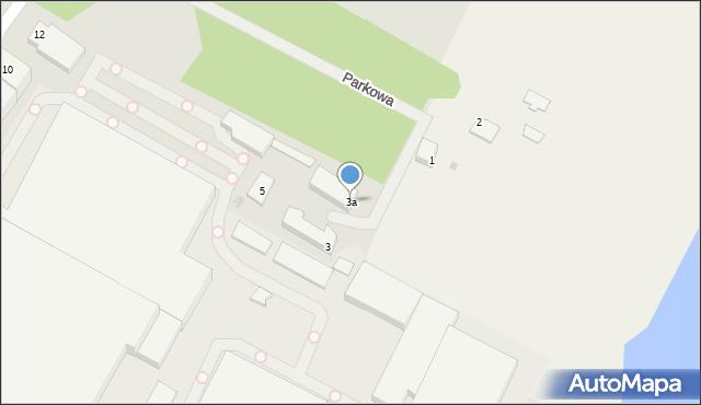 Kętrzyn, Parkowa, 3a, mapa Kętrzyn