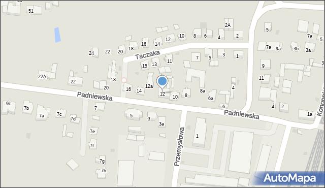 Mogilno, Padniewska, 12, mapa Mogilno