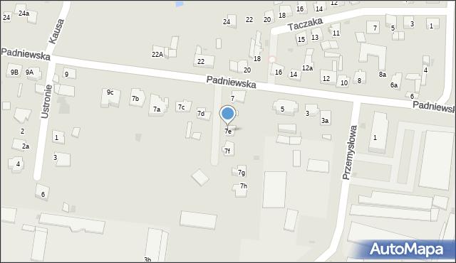 Mogilno, Padniewska, 7e, mapa Mogilno