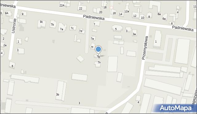 Mogilno, Padniewska, 7g, mapa Mogilno