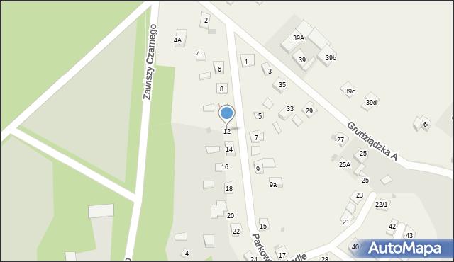 Nowa Wieś, Parkowa-Osiedle, 12, mapa Nowa Wieś