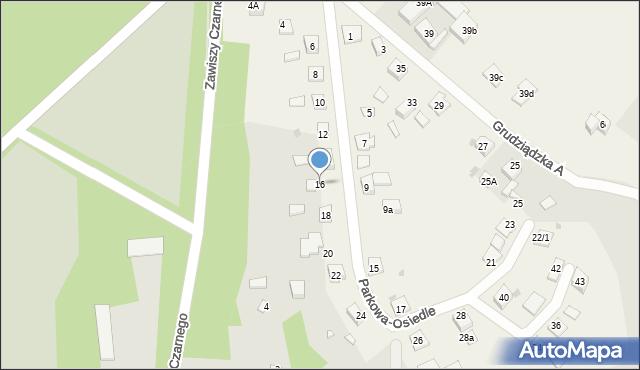 Nowa Wieś, Parkowa-Osiedle, 16, mapa Nowa Wieś