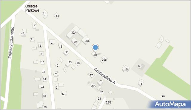 Nowa Wieś, Parkowa-Osiedle, 39c, mapa Nowa Wieś