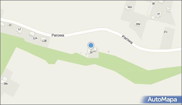 Nowa Wieś, Parowa, 14, mapa Nowa Wieś
