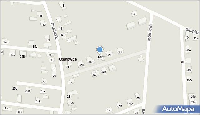 Tarnowskie Góry, Pastuszki Jana, 36C, mapa Tarnowskie Góry