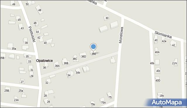 Tarnowskie Góry, Pastuszki Jana, 36E, mapa Tarnowskie Góry