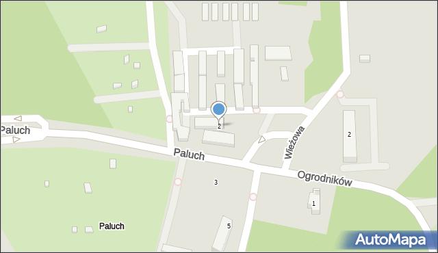 Warszawa, Paluch, 2, mapa Warszawy