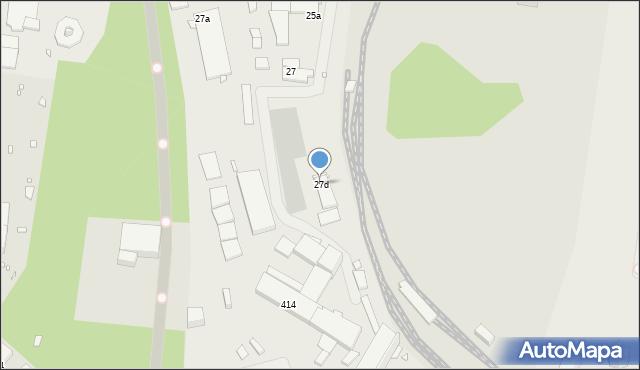 Zabrze, Pawliczka Alojzego, 27d, mapa Zabrza