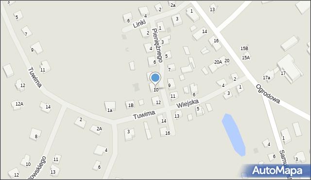 Kętrzyn, Pieniężnego Seweryna, 10, mapa Kętrzyn