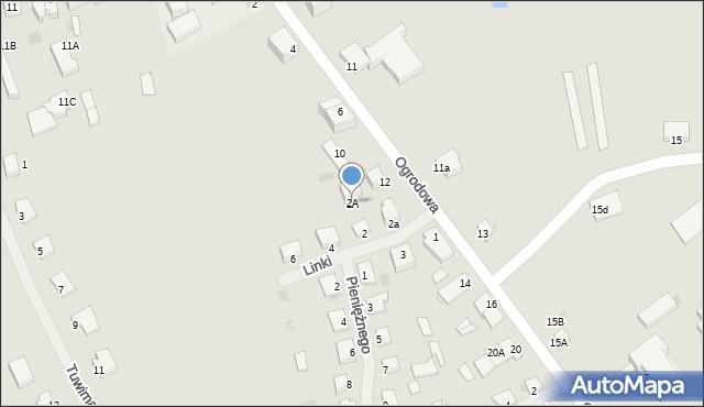 Kętrzyn, Pieniężnego Seweryna, 2A, mapa Kętrzyn