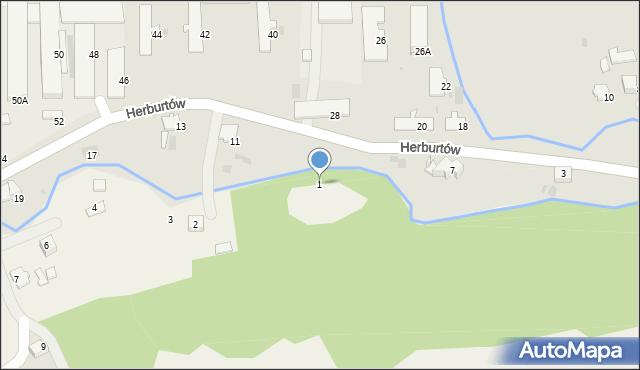 Pikulice, Pikulice, 1, mapa Pikulice