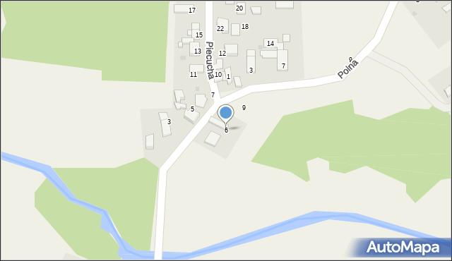 Potępa, Piecucha, 6, mapa Potępa