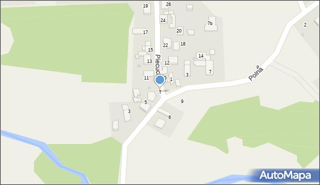 Potępa, Piecucha, 7, mapa Potępa