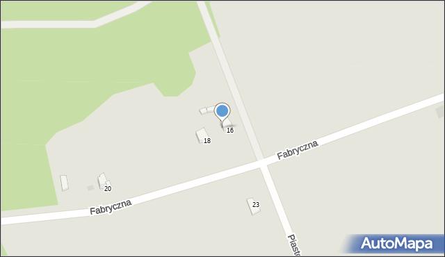 Przemyśl, Piastowska, 16, mapa Przemyśla