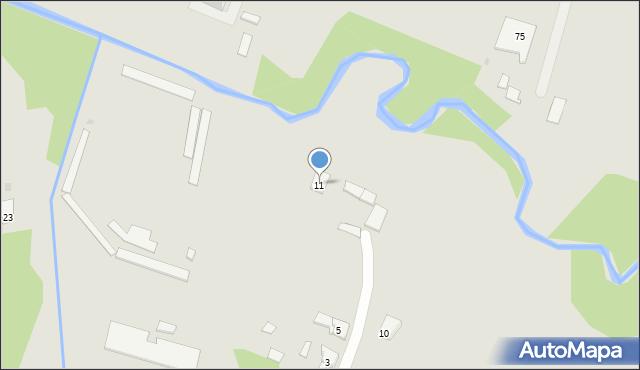 Ruda Śląska, Piękna, 11, mapa Rudy Śląskiej