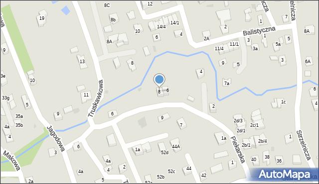 Rzeszów, Piekarska, 8, mapa Rzeszów