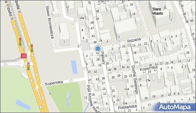 Toruń, Piekary, 31, mapa Torunia