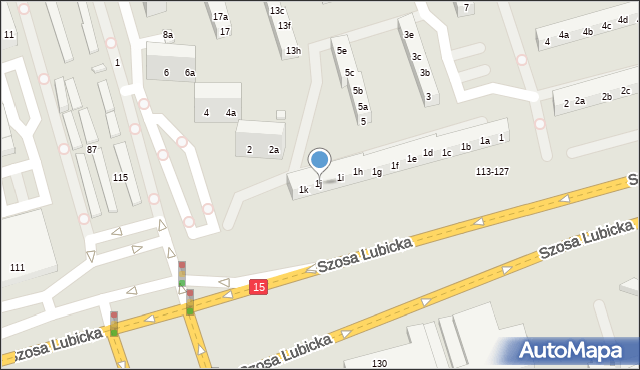 Toruń, Piskorskiej Heleny, 1j, mapa Torunia