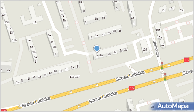 Toruń, Piskorskiej Heleny, 2, mapa Torunia