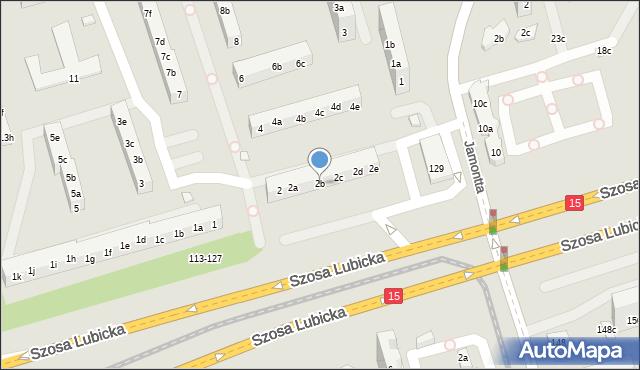 Toruń, Piskorskiej Heleny, 2b, mapa Torunia