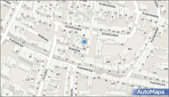 Bytom, Plac Klasztorny, 4a, mapa Bytomia