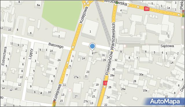 Bytom, Plac Kruczkowskiego Kazimierza, 4, mapa Bytomia